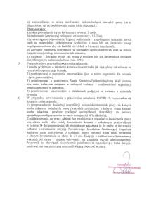 Zarządzenie Kierownika GOPS w Raciechowicach w sprawie organizacji i zasad funkcjonowania Gminnego Ośrodka Pomocy Społecznej w Raciechowicach w związku ze stanem epidemii-4