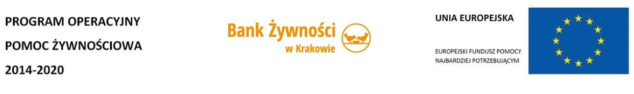 2017-09 - Bank żywności w Krakowie - logotypy
