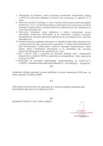 Zarządzenie Kierownika GOPS w Raciechowicach w sprawie organizacji i zasad funkcjonowania Gminnego Ośrodka Pomocy Społecznej w Raciechowicach w związku ze stanem epidemii-2